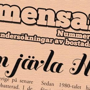 "Kvartersbladet ""Gemensamt!"" nr 2/2011"