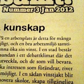 Kvartersbladet Gemensamt!  (nr 3/jan 2012)