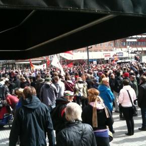 Första maj med Allt åt Alla Umeå