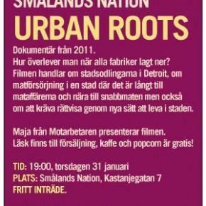Filmvisning på Smålands Nation: Urban Roots
