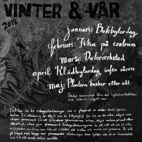 Allmänningsvinter- & vår 2013 i Umeå