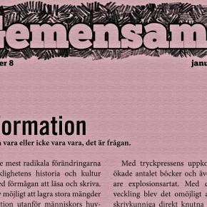Kvartersbladet Gemensamt! nr 8