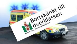 Bortskänkt till överklassen: Ambulanserna