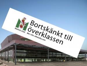 Bortskänkt till överklassen: Malmö Arena