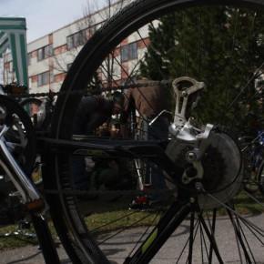 Cykelallmänning på Ålidhem