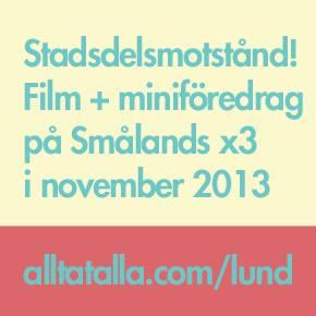 Filmvisningar på Smålands