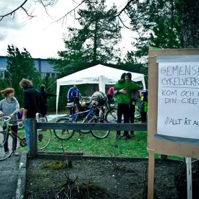 Allmänning: Cykelverkstad