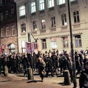 """Tal från """"Solidaritet med Kärrtorp""""-manifestationen 20/12, Lund"""