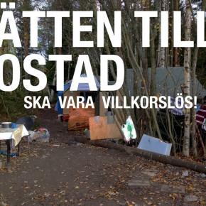 """Umeå: """"Rätten till bostad ska vara villkorslös"""""""