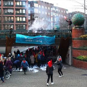 Fotoreportage och tal från storslagen feministisk demonstration
