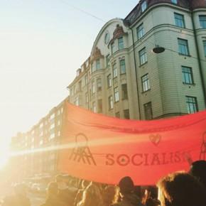 Rapport från 8 mars-manifestation i Stockholm