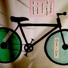 Kvinnoseparatistisk cykelworkshop