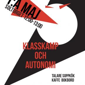 Karlstad: Första maj 2015 – autonomi och klasskamp
