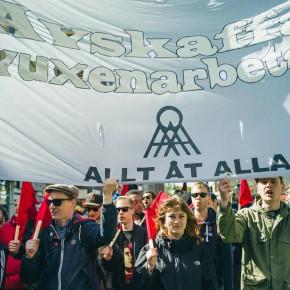 Demonstrera med Allt åt Alla Göteborg på första maj!