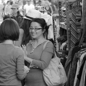 Boutique Solidarité: Kläd- och fikaallmänning