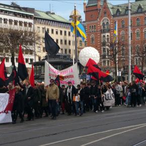 Första maj i Stockholm 2016