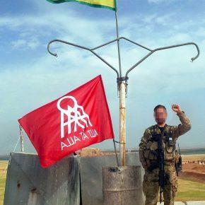 Allt åt Alla Malmös tal på solidaritetsdemonstration för Afrin