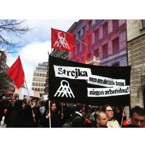 Första maj 2018 i Stockholm